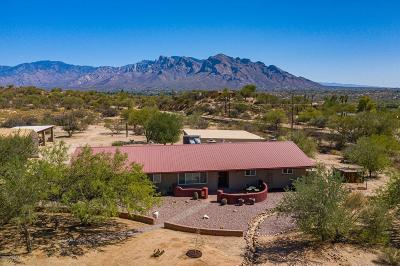 Oro Valley Single Family Home Active Contingent: 9950 N La Cholla Boulevard
