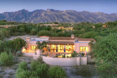 Tucson Single Family Home Active Contingent: 4681 N Camino Sumo