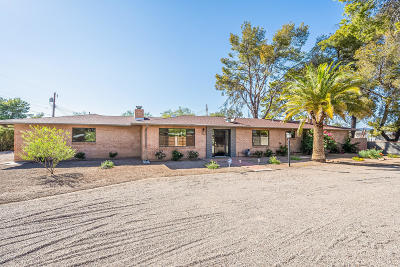 Tucson Single Family Home Active Contingent: 2621 N Swan Road