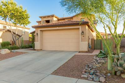Tucson Single Family Home Active Contingent: 3718 E Mecate Road