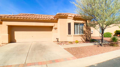 Oro Valley Townhouse For Sale: 13401 N Rancho Vistoso Boulevard #80