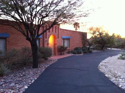 Tucson Single Family Home Active Contingent: 5160 N Apache Hills Trail