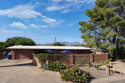 Tucson Single Family Home Active Contingent: 5131 E Holmes Street