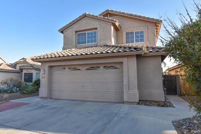 Tucson Single Family Home Active Contingent: 2541 W Saguaro Bluffs Drive