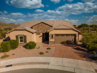 Tucson Single Family Home Active Contingent: 2620 W Starr Summit Court