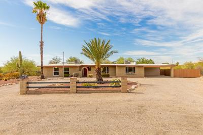 Tucson Single Family Home Active Contingent: 7761 N Sin Salida Court
