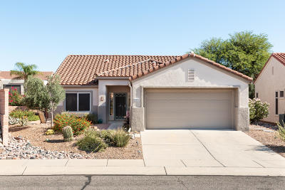 Oro Valley Single Family Home Active Contingent: 2253 E Indian Town Way