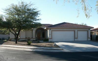 Tucson Single Family Home For Sale: 122 E Golden Sun Place