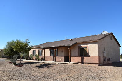 Marana Single Family Home Active Contingent: 16298 W Feral Road