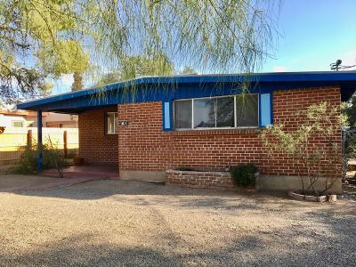 Tucson Single Family Home For Sale: 1726 E Glenn Street