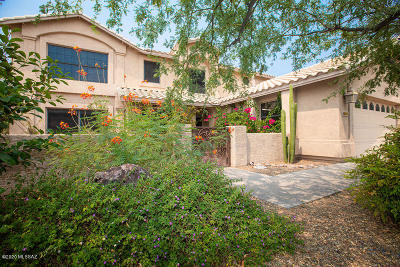 Tucson Single Family Home Active Contingent: 12615 N Pioneer Way