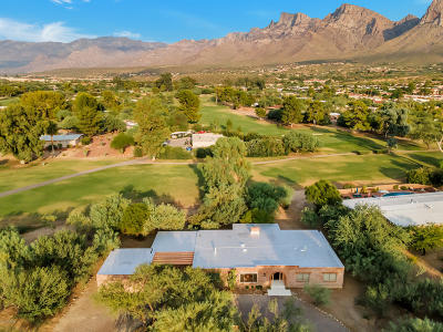 Oro Valley Single Family Home Active Contingent: 325 W Oro Valley Drive