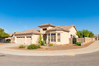 Tucson Single Family Home Active Contingent: 2638 W Cholla Ridge Place