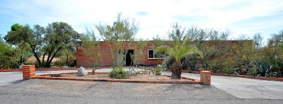 Tucson Single Family Home Active Contingent: 1200 E Silvertree Drive