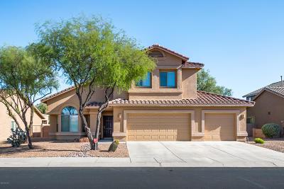 Tucson Single Family Home Active Contingent: 8070 N Iron Ridge Drive