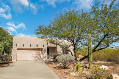 Tucson Single Family Home Active Contingent: 8158 W Circulo De Los Morteros