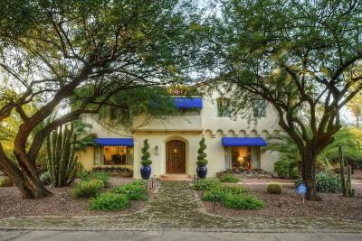 Tucson Single Family Home For Sale: 95 N Camino Miramonte