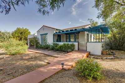Tucson Single Family Home For Sale: 1632 E Hampton Street