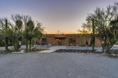 Tucson Single Family Home Active Contingent: 1730 E Skyline Drive