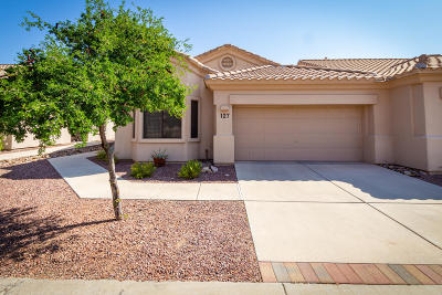 Oro Valley Townhouse For Sale: 13401 N Rancho Vistoso Boulevard #127
