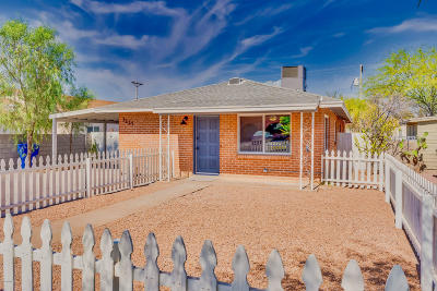 Tucson Single Family Home For Sale: 1227 E Miles Street