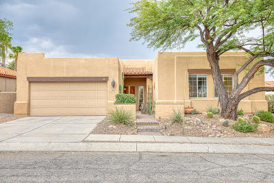 Tucson Single Family Home For Sale: 10620 E Northern Crest Drive