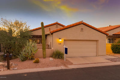 Tucson Single Family Home For Sale: 5851 N Misty Ridge Drive