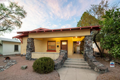 Tucson Single Family Home Active Contingent: 635 E 4th Street