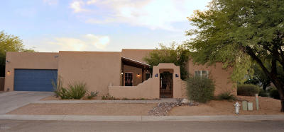Tucson Single Family Home Active Contingent: 10506 E Kay Gartrell Place