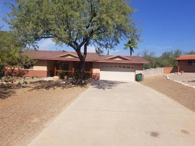 Tucson Single Family Home Active Contingent: 7831 E Camino Los Brazos