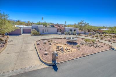 Tucson Single Family Home Active Contingent: 9020 E Eagle Place