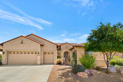 Tucson Single Family Home Active Contingent: 39705 S Riverwood Drive