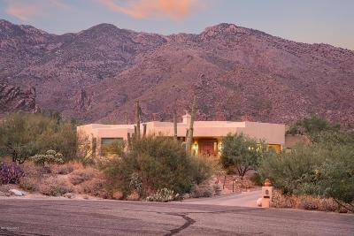 Tucson Single Family Home Active Contingent: 6280 E Placita El Vuelo