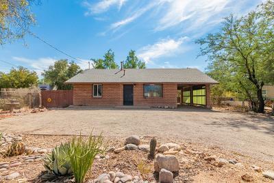 Tucson Single Family Home Active Contingent: 3144 E Glenn Street
