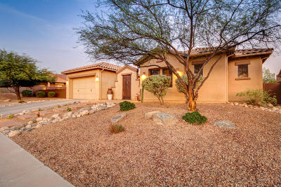 Oro Valley Single Family Home Active Contingent: 13714 N Napoli Way