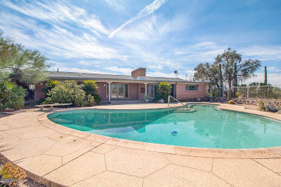 Tucson Single Family Home Active Contingent: 102 W Sahuaro Vista