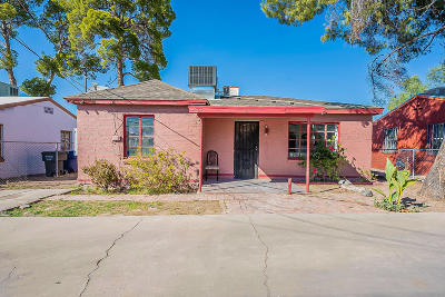Tucson Single Family Home Active Contingent: 208 W Veterans Boulevard