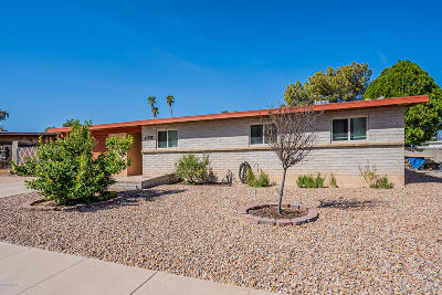 Tucson Single Family Home Active Contingent: 2932 S Marvin Avenue