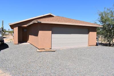 Tucson Single Family Home Active Contingent: 11682 W Cloud View Place