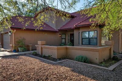 Tucson Single Family Home Active Contingent: 10741 E Via Tranquilla