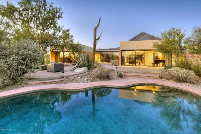 Tucson Single Family Home For Sale: 5671 N Campbell Avenue