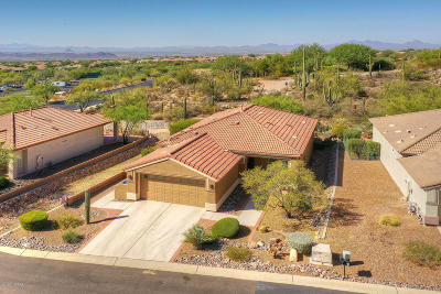 Marana Single Family Home Active Contingent: 13447 N Heritage Canyon Drive