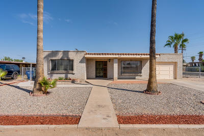 Tucson Single Family Home Active Contingent: 6643 S Lundy Avenue