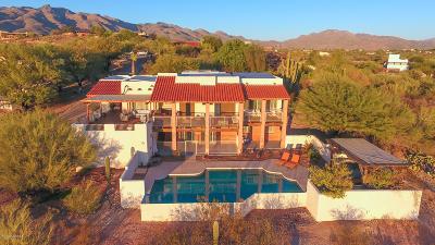 Tucson Single Family Home Active Contingent: 3825 N Via De La Luna