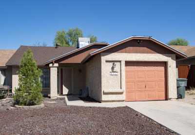 Tucson Townhouse For Sale: 8727 E Boojum Place