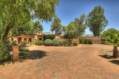 Tucson Single Family Home For Sale: 6101 E Miramar Drive