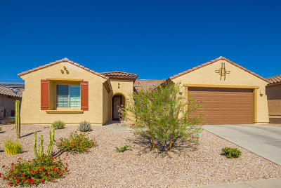 Tucson Single Family Home Active Contingent: 5024 W Paseo Rancho Acero