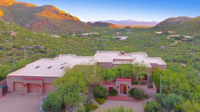 Marana Single Family Home For Sale: 4519 W Cush Canyon Loop