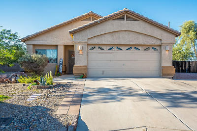Marana Single Family Home For Sale: 11420 W Burning Sage Street
