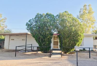 Tucson Single Family Home For Sale: 2761 W Roadrunner Road